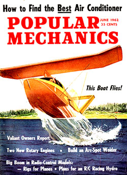 Spratt on the cover of Popular Mechanics from 1962
