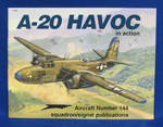 A-20 HAVOC IN ACTION #144