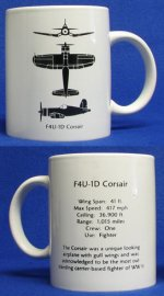 F4U-1D Corsair Spotter Coffee Mug
