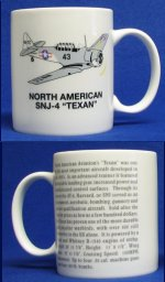 "North American SNJ-4 ""Texan"" Coffee Mug"