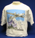 B-29 Superfortress (mountains) T-Shirt