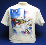 P-40 Warhawk Flying Tigers T-Shirt