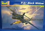 Revell P-61 Black Widow 1:48 scale  Plastic Model Kit