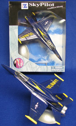 F-18 Hornet Blue Angels - Die-Cast Plastic Model