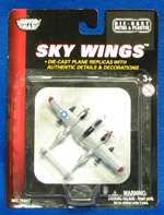 P-38 Lightning - Sky Wings 3.5 Inch Die-Cast Model