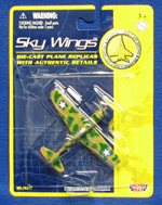 P-40 Warhawk - Sky Wings 3.5 Inch Die-Cast Model
