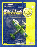 Supermarine Spitfire - Sky Wings 3.5 Inch Die-Cast Model