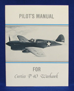 PILOTS MANUAL FOR CURTISS P-40 WARHAWK