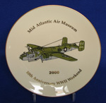 2000, 10th Anniversary WWII Weekend Plate