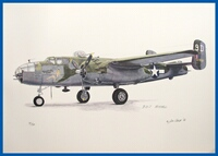 B-25J 'Briefing Time' Limited Edition Print