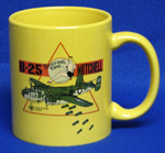 B-25J 'Briefing Time' Coffee Mug - Yellow