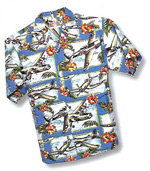 Men's Hawaiian Aloha Shirt - Island Mist