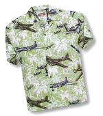 Men's Hawaiian Aloha Shirt - Palm Tree