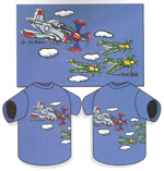 "Children's ""P-51 on the Prowl"" T-Shirt"