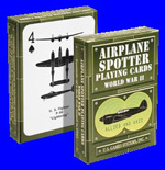 Aircraft Spotter Playing Cards - WW II