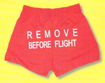 Remove Before Flight Cheer Shorts