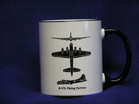 B-17 Flying Fortress Spotter Coffee Mug