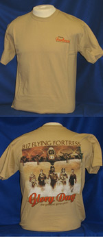 B-17 Glory Days Front & Back-Print T-Shirt