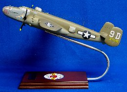 "B-25J Mitchell ""Briefing Time"" resin model"