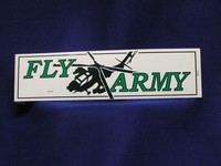FLY ARMY Bumper Sticker