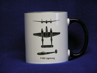 P-38 Lightning Spotter Coffee Mug