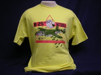 B-25 'Briefing Time' Yellow T-Shirt