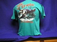 F4U Corsair - Pirate of the Pacific - Front & Back Print T-Shirt