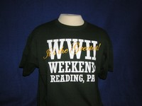 WWII WEEKEND - READING, PA Green T-Shirt