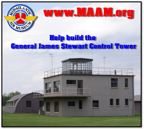WORLD WAR II AAF CONTROL TOWER PROJECT DONATION