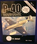 P-40 WARHAWK IN DETAIL & SCALE PART 1 #61 (Y1P-36 through P-40C)