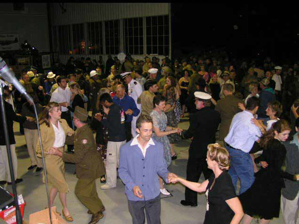 Hangar Swing Dance