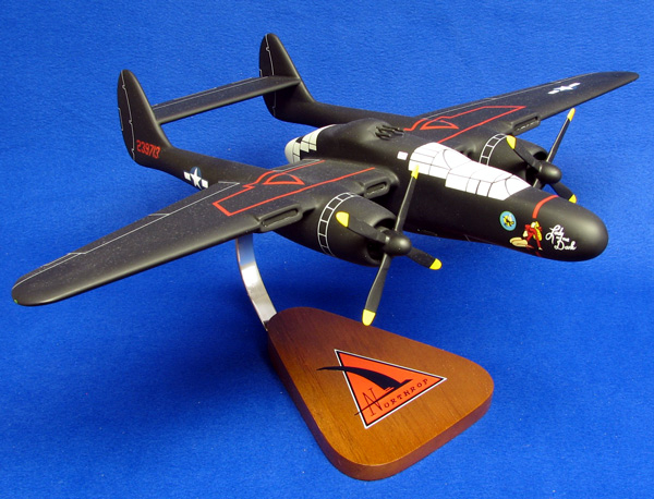 P-61 resin model, one of the $750 + donation gifts.