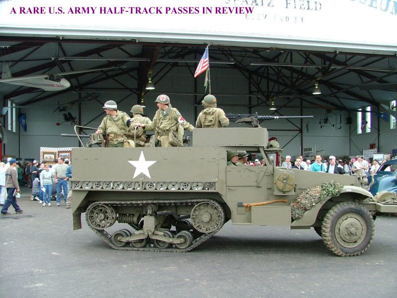 see up to 200 military vehicles from motorcycles to jeeps